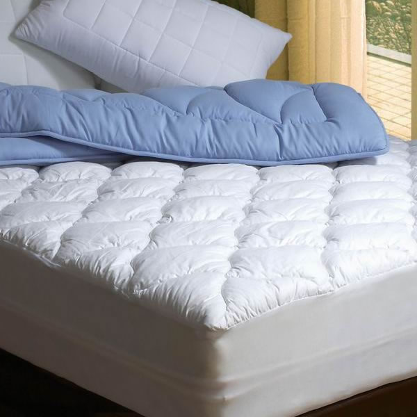 Microdenier Polyester Filled Mattress pad