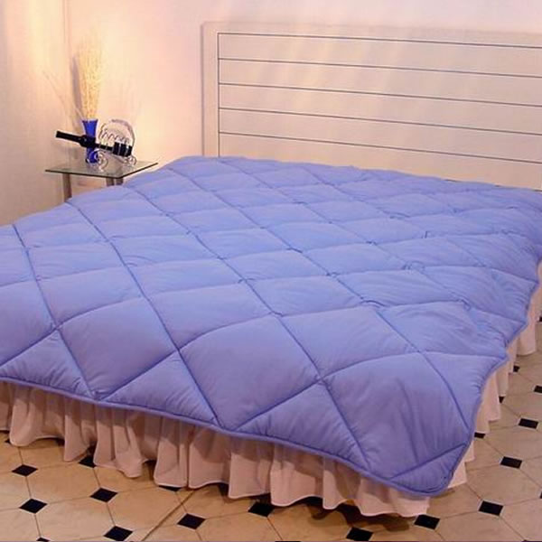 MicroDenier Polyester Filled Comforter with 1 cm binding