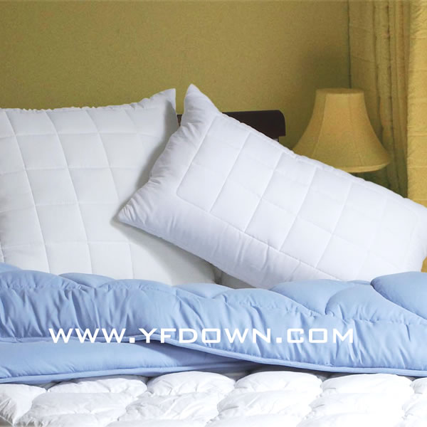 Microfiber Bedding Quilted out Pillows