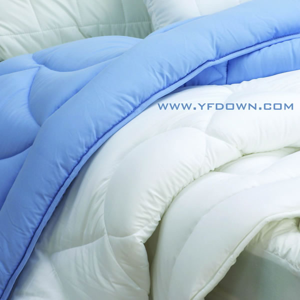 Microfiber Bedding MicroDenier Polyester Filled Comforter